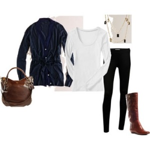 black white and brown polyvore