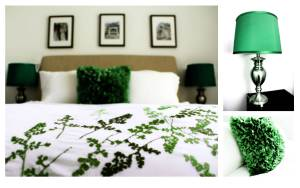 Emerald Green Bedroom