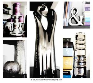 Silver Decor Accents