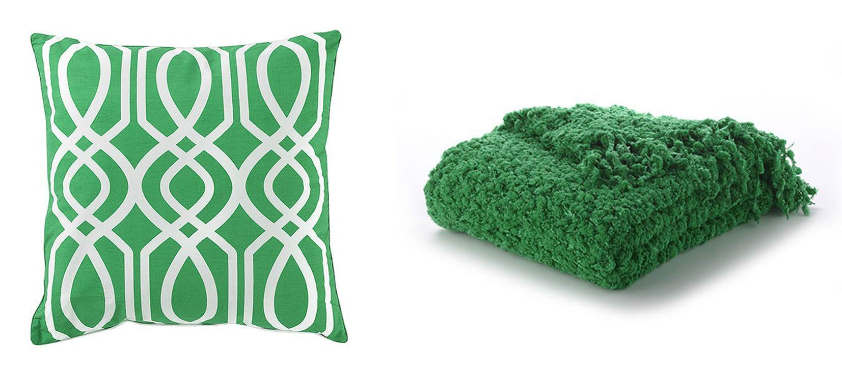 Stilettos and sweatpants - Emerald green throw blanket ...