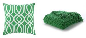 Throw Pillow and Blanket